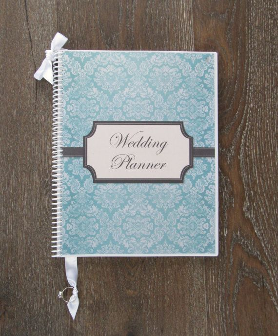 Wedding Planner and Organizer Book - Isabella Cover Design - Engagement Gift and Tool for New ...