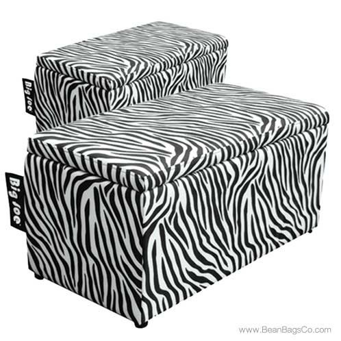 Comfort Research Big Joe 2 In 1 Bench Ottoman Zebra Print On Sale 154 99 Free Shipping Fast Delivery No Sales Ottoman Bench Ottoman Zebra Furniture
