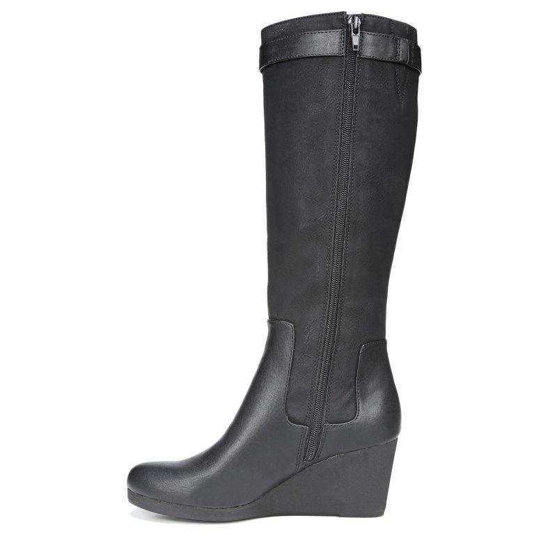 Navia Wide Calf Medium/Wide Wedge Boot