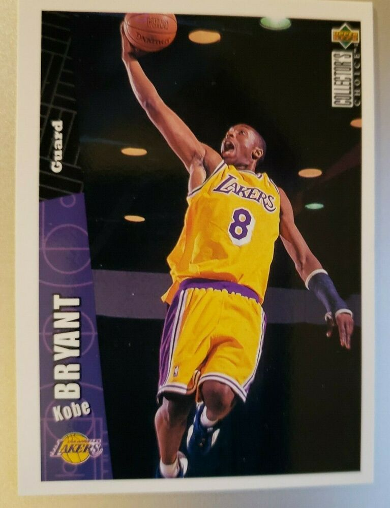 199697 collectors choice 267 kobe bryant rc rookie card