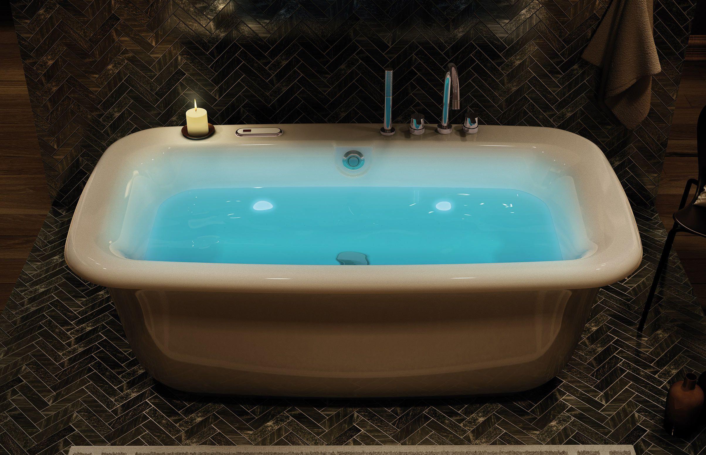 MAAX - Miles Freestanding Bathtub www.maax.com | Baths | Pinterest ...