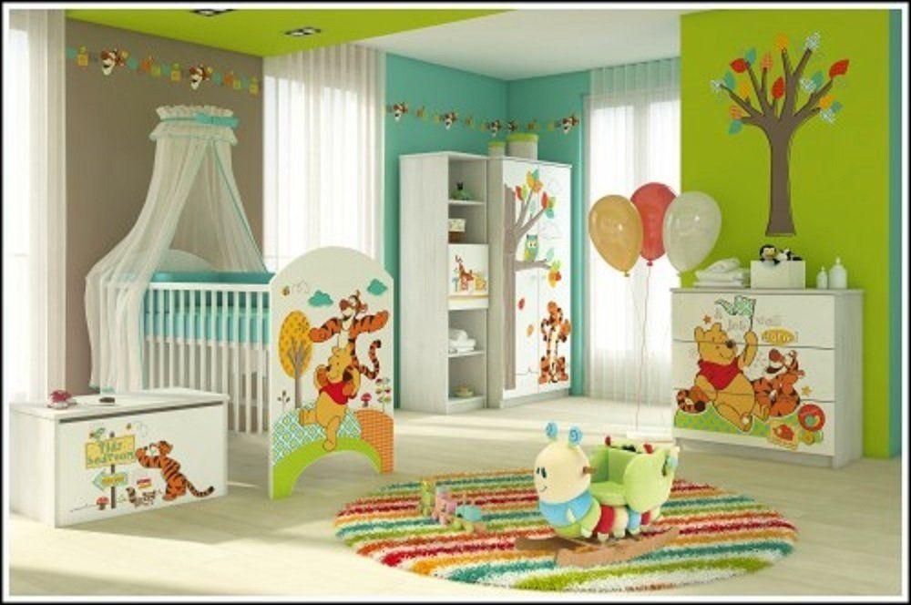Kinderzimmer KomplettSet mit Winnie Pooh Motiv. Möbel für