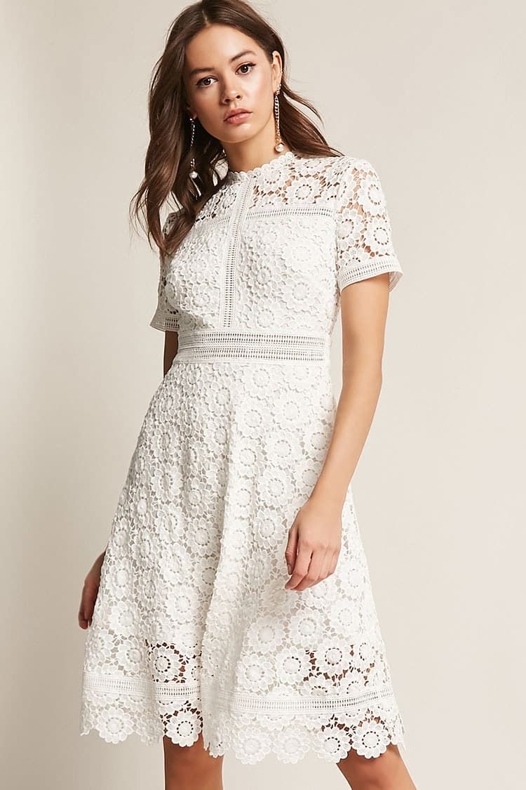 Product Name Crochet Floral Midi Dress Category Dress Price 37 9 Sheer Sleeve Dress Sheer Floral Dress Floral Midi Dress