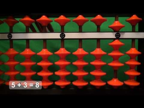 easy addition with the abacus soroban 1 digit 1 digit part 1 youtube soroban. Black Bedroom Furniture Sets. Home Design Ideas