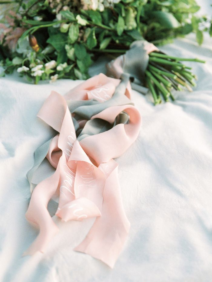 Silk ribbons for bouquet | fabmood.com