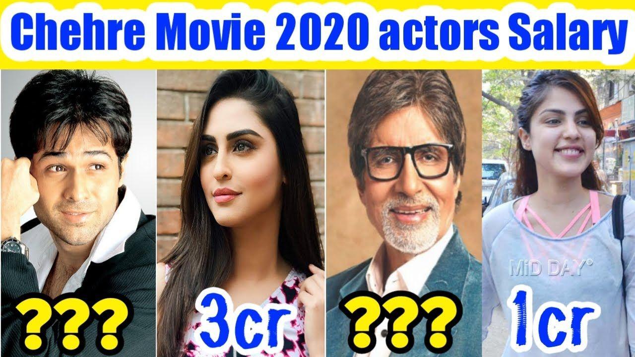 Chehre Movie 2020 Actor S Salary Emraan Hashmi Amitabh