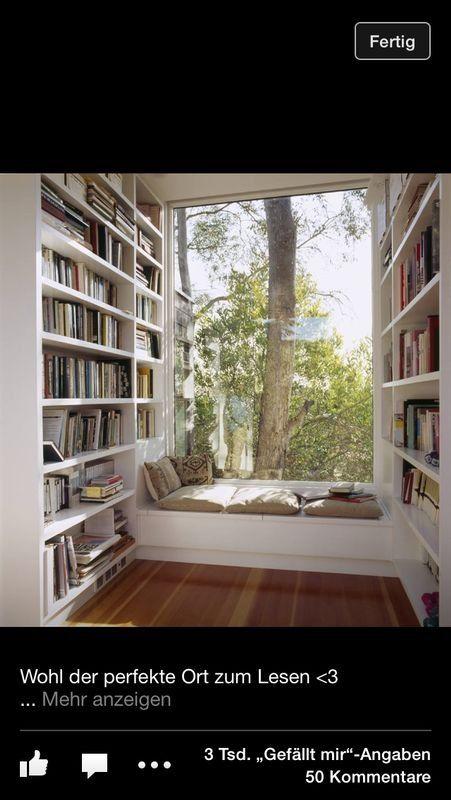 Ein traum von lesezimmer kreative wohnideen pinterest for Lesezimmer einrichten ideen