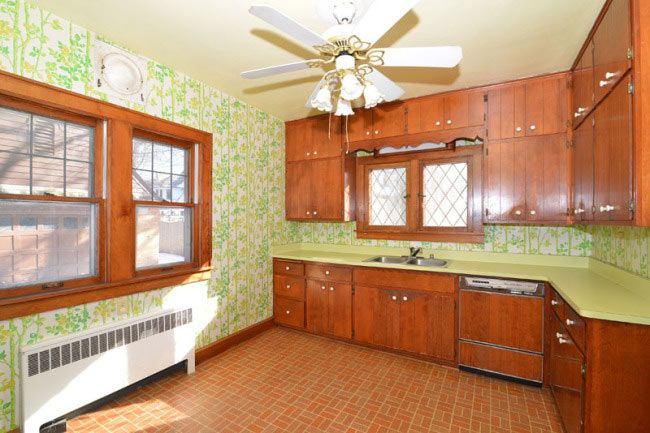 charming 1930 tudor revival time capsule house - with upholstered