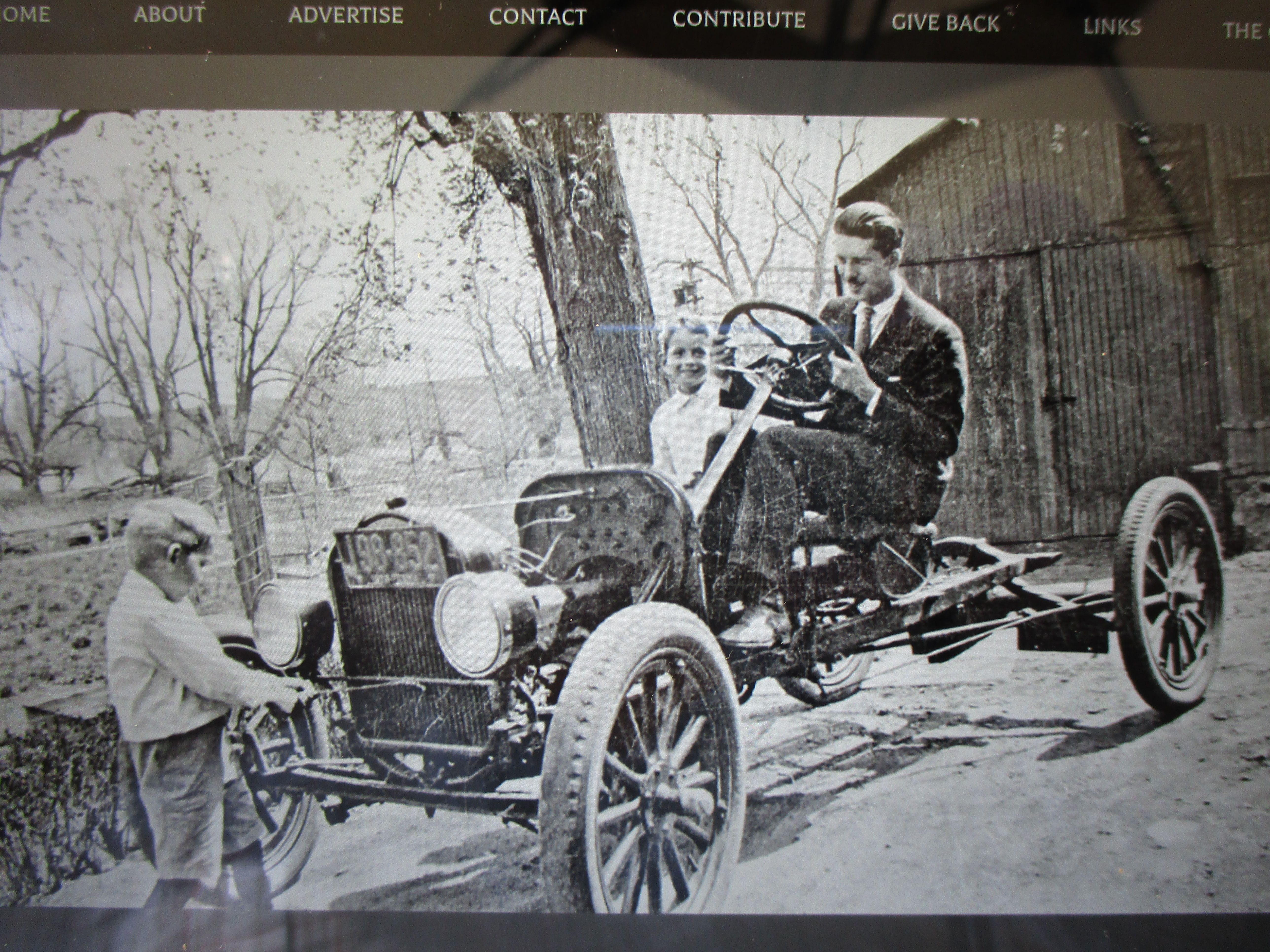 Model T Ford Stripped Of It S Body And Fenders Ready To Become A