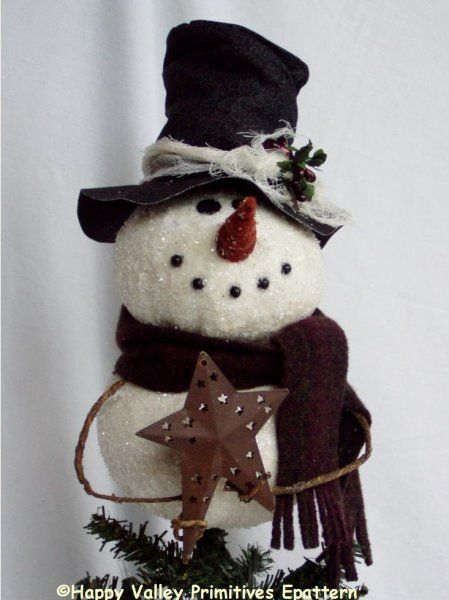 pin by pattern mart on christmas patterns snowman tree. Black Bedroom Furniture Sets. Home Design Ideas