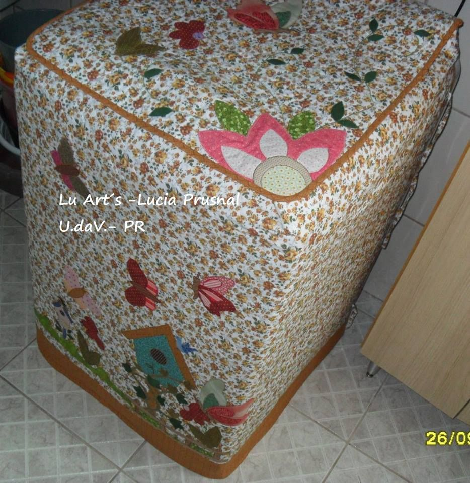 Cobertor para lavadora forro para lavadoras pinterest - Proyectos de patchwork ...