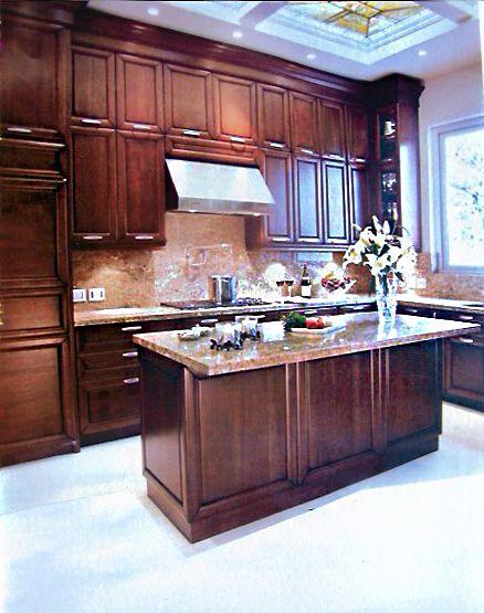 Hermosa Cocina Elaborada por Maison. Cocina100% madera de calidad ...