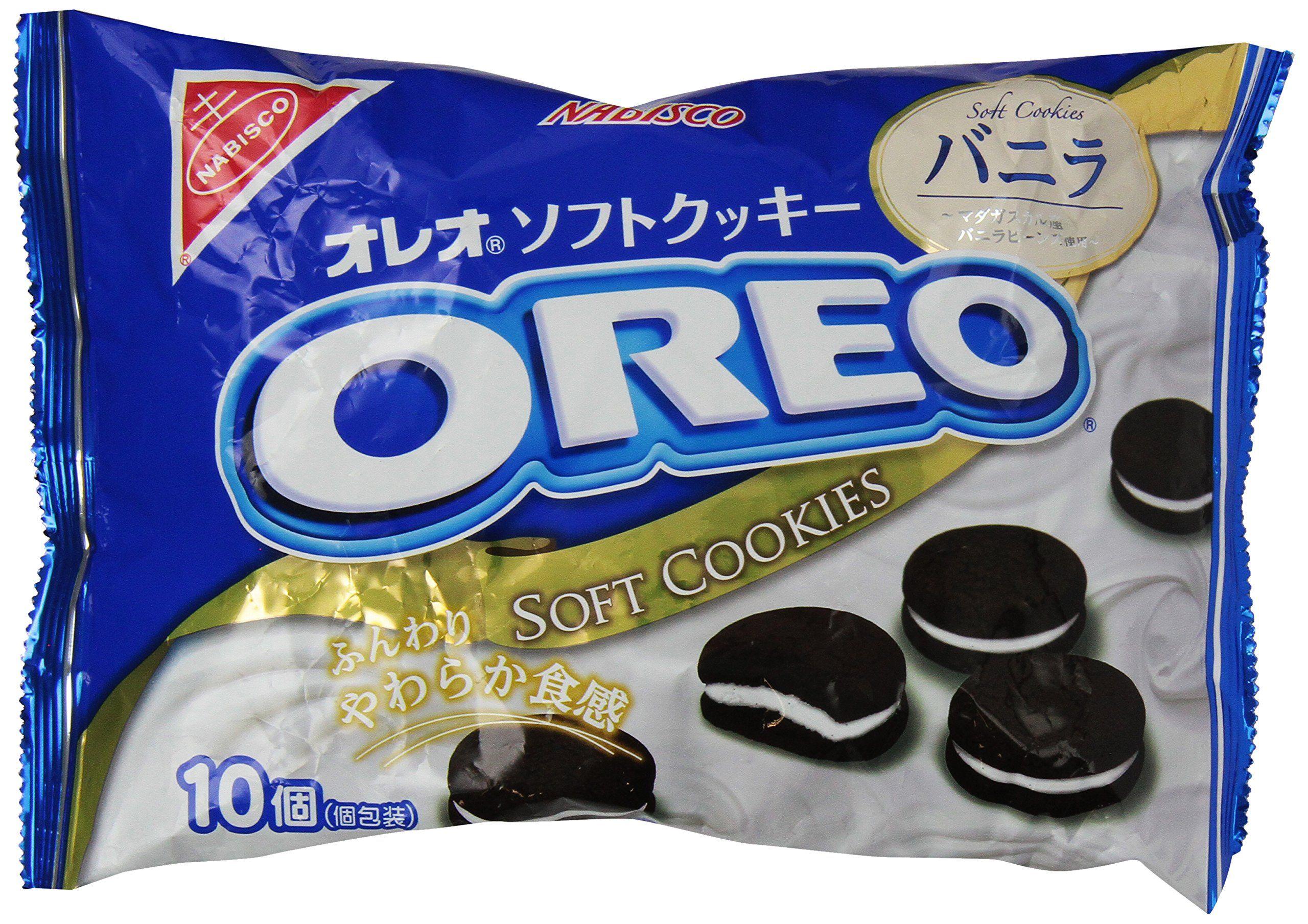 Nabisco Oreo Soft Cookie Vanilla, 5.15 Ounce