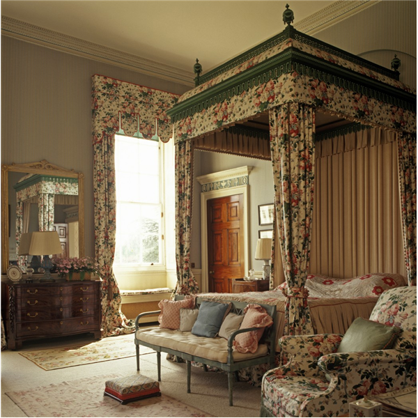 9 Newby Hall, Chintz Bedchamber