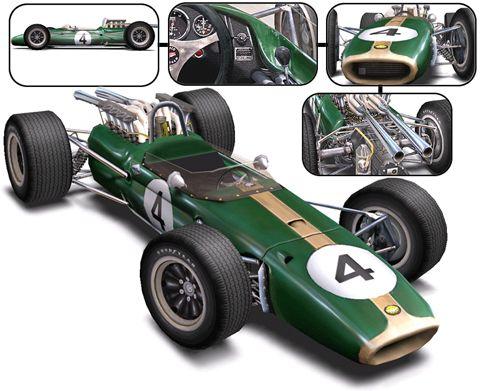 Mexico City Brabham Racing Organization Jack Brabham