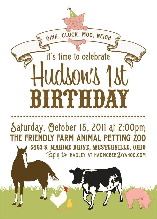 Petting zoo party invitationch a cute card maybe not first petting zoo party invitationch a cute card maybe not first bday though filmwisefo