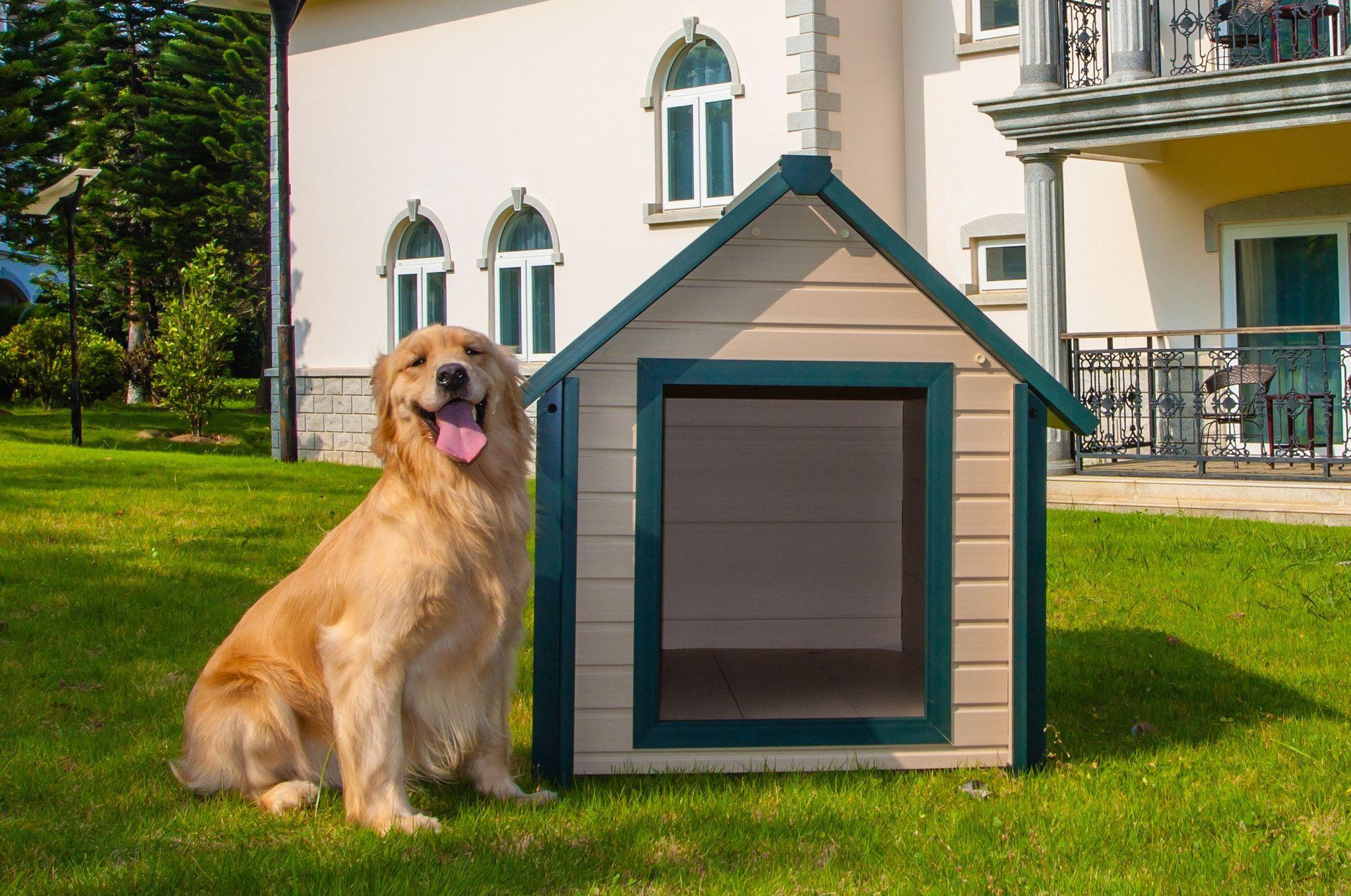 Eco Concepts Insulated Dog House Insulated Dog House Heated Dog
