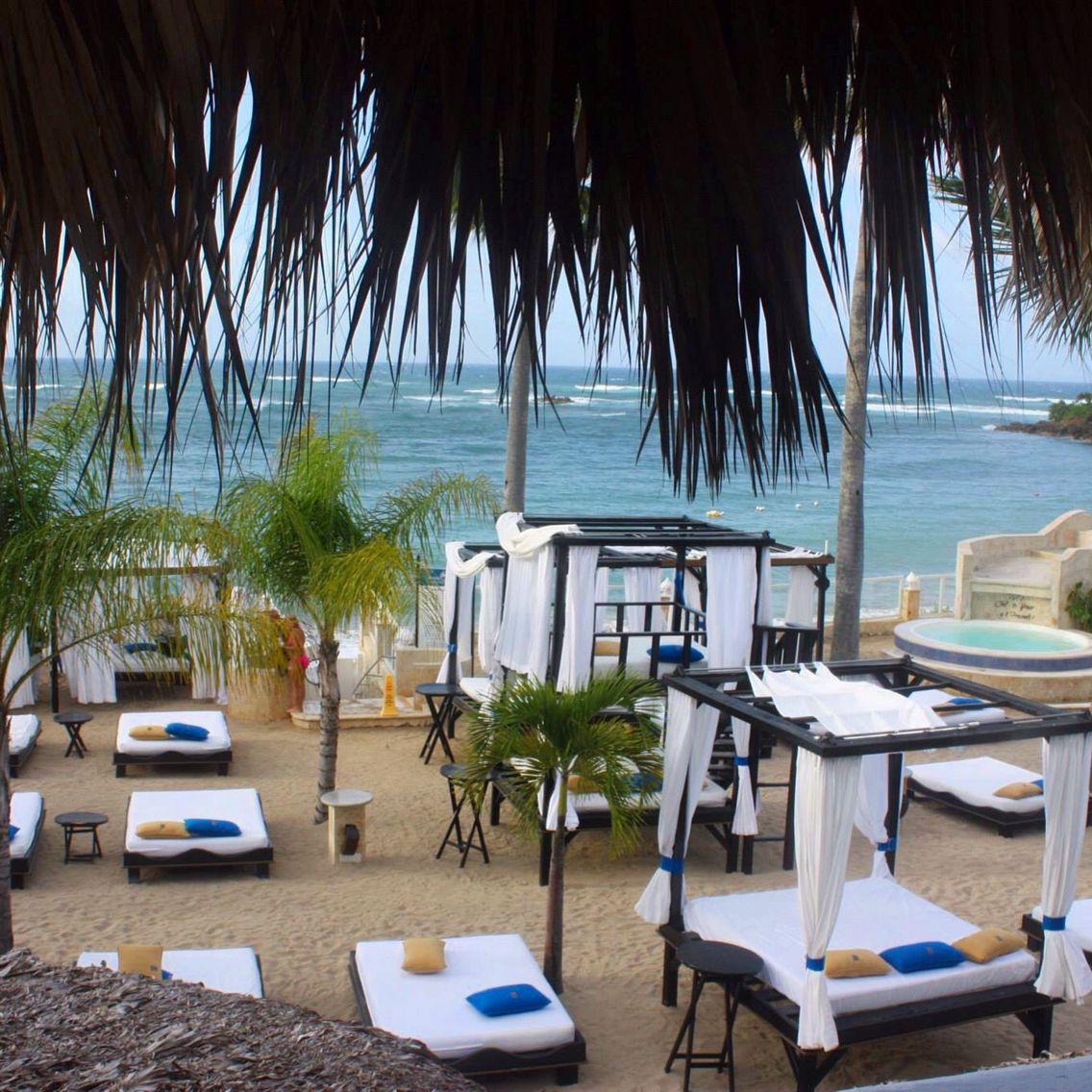 Vip Beach At The Lifestyles Resort In Puerto Plata