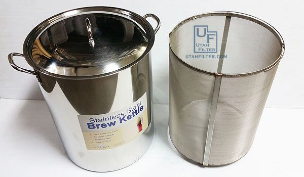 10 Gallon Stainless Steel Tc Heating Element Kettle Canuck Homebrew Supply