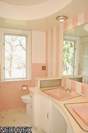 1958 Home Akron Oh Vintage Bathrooms Retro Home Decor Retro Home
