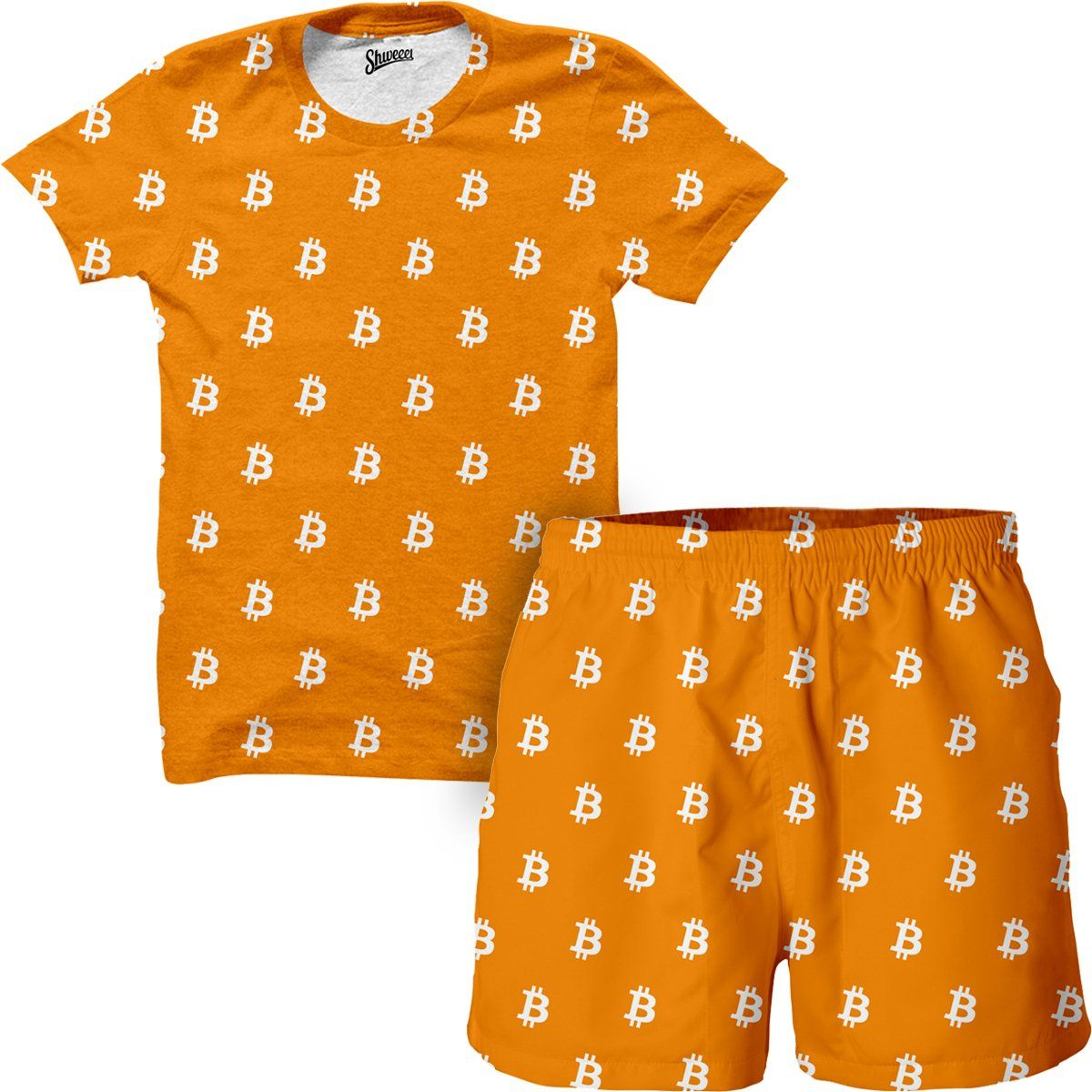 Bitcoin Shirt and Shorts Combo (With images) Bitcoin