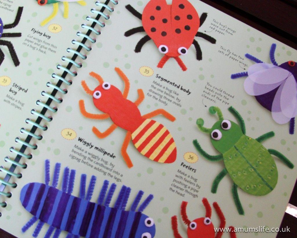 Crafty creepy crawlies summer camp bug o rama for Bugs arts and crafts