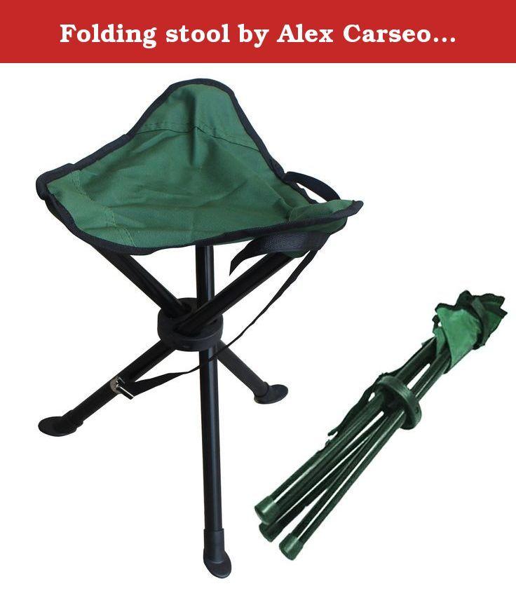 Groovy Folding Stool By Alex Carseon Small Lightweight Portable Uwap Interior Chair Design Uwaporg