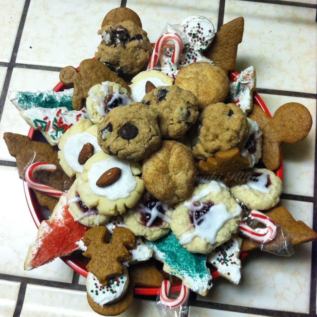 Vegan Christmas Cookies 2017 Genki Kitty