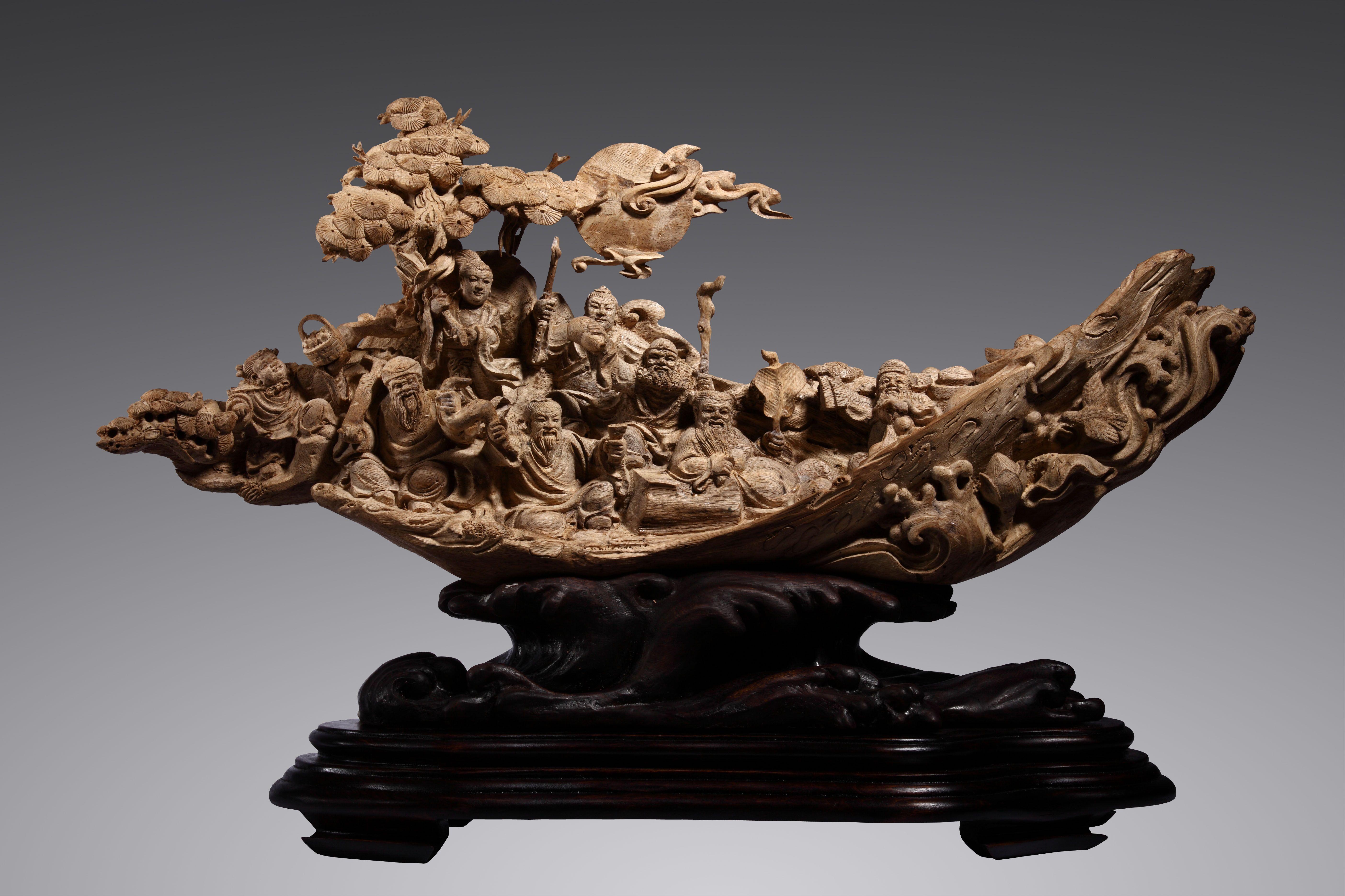 Agarwood and Agarwood Carving 沉香木雕 - Chinese Cool Art | Chinese