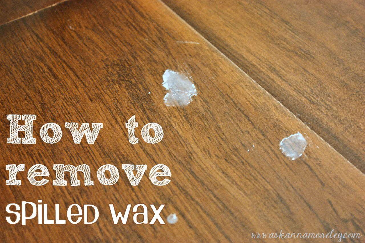 How To Remove Spilled Wax With Images Spilled Wax Cleaning Hacks Candle Wax Removal