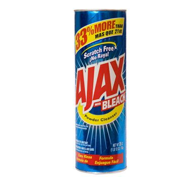 Ajax Powder Cleaners With Bleach 28 Oz Bonus Containers