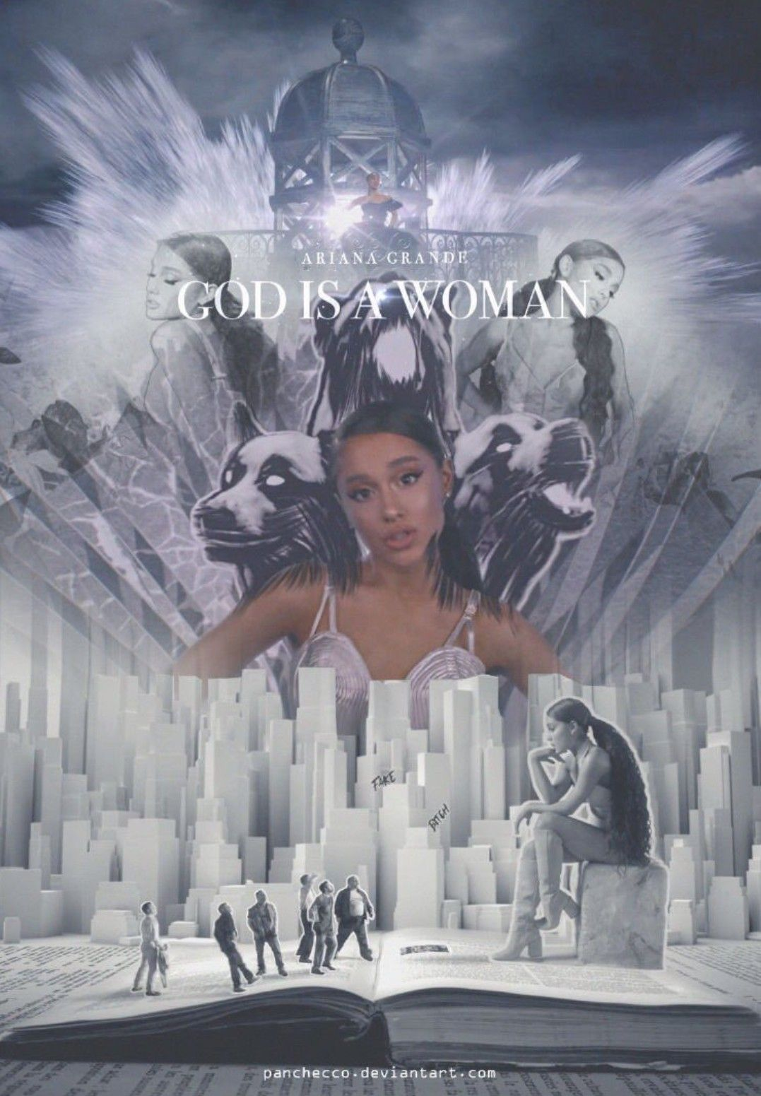 Favorite Visuals In God Is A Woman Cantores Artistas Ariana