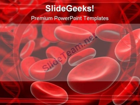 Blood cells medical powerpoint template 0610 abstract powerpoint blood cells medical powerpoint template 0610 powerpoint templates themes toneelgroepblik Images