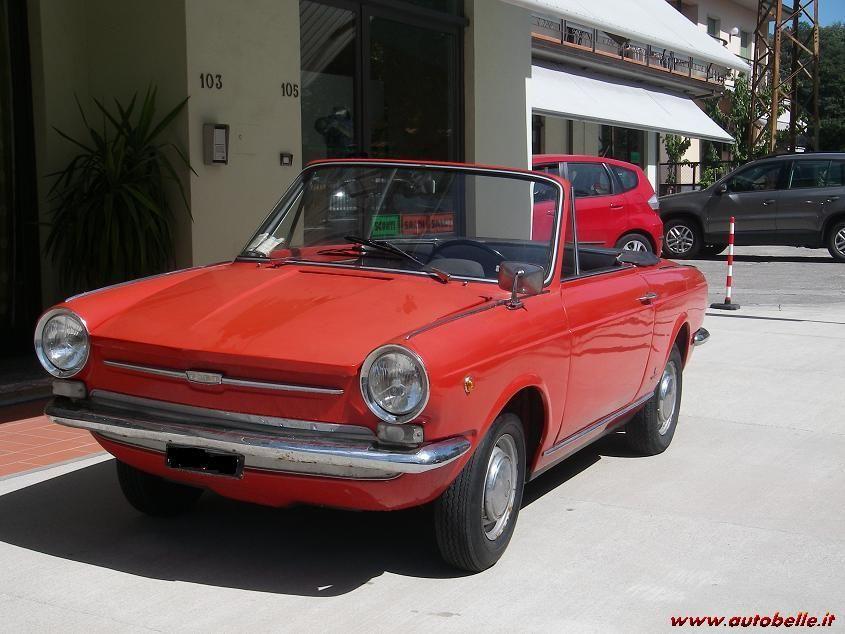 1968 FIAT 850 CABRIOLET - coachwork by Carrozzeria Alfredo Vignale of Turin.