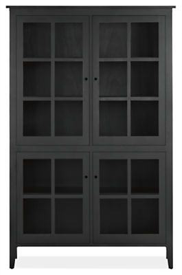 Adams Glass Door Cabinets Modern Living Room FurnitureModern
