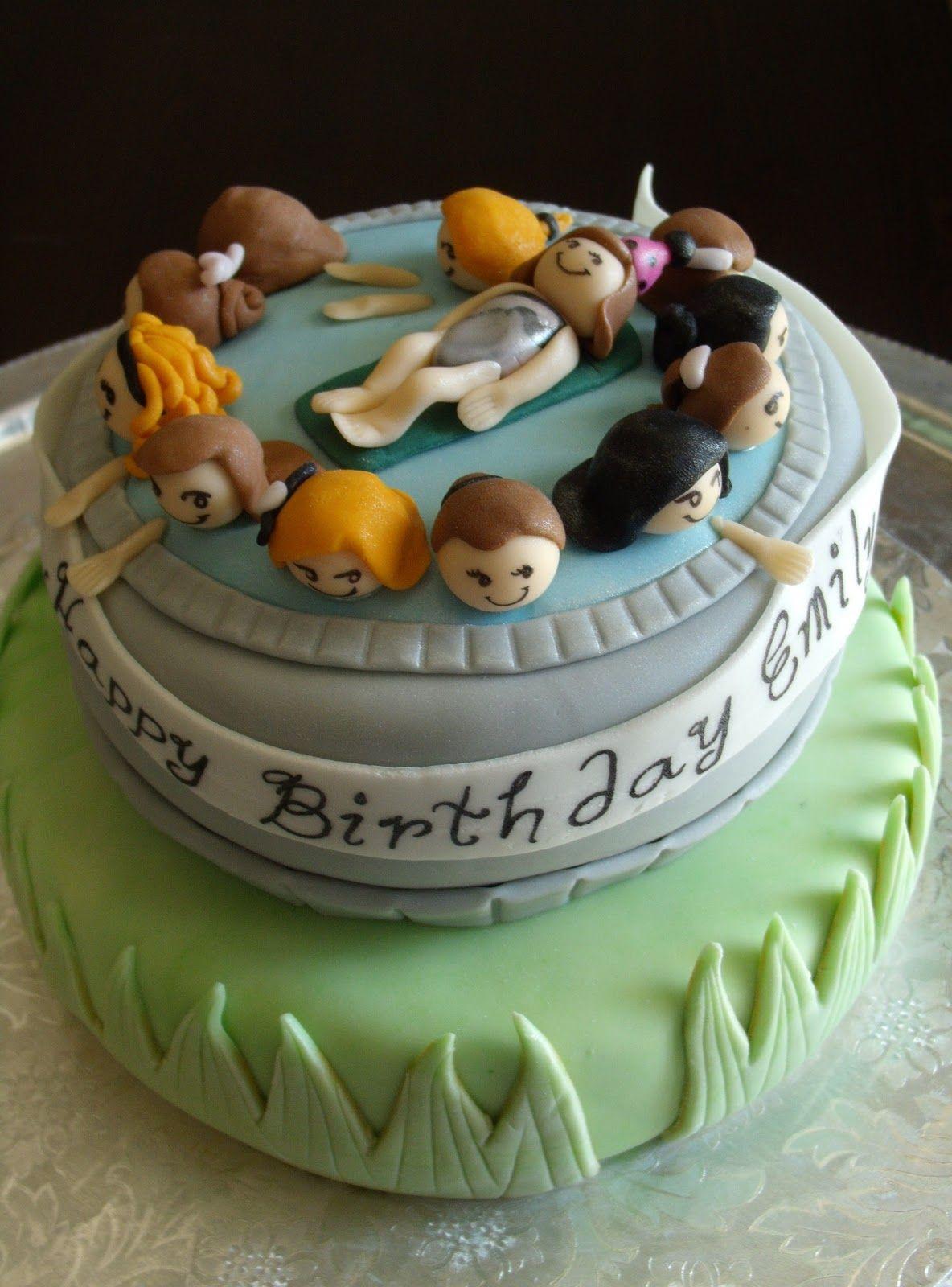 Swim Party Cake~