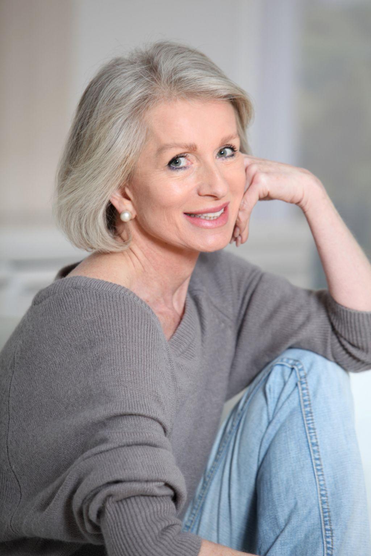 Gray Hairstyles For Women Over 5 #longhairdosforolderwomen  Hair