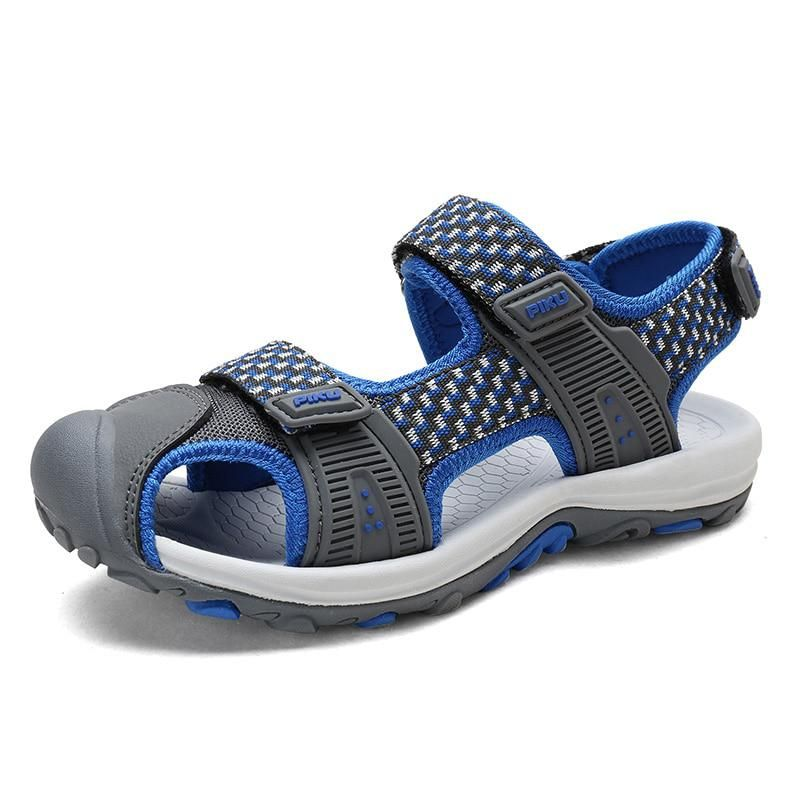 ULKNN Summer Kids Shoes Beach Water Boys Sandals Mesh Breathable Cut-outs Children  Sandals For Student Outdoor Sport Running. Yesterday s price  US  22.87 ... ded34f8c0e7