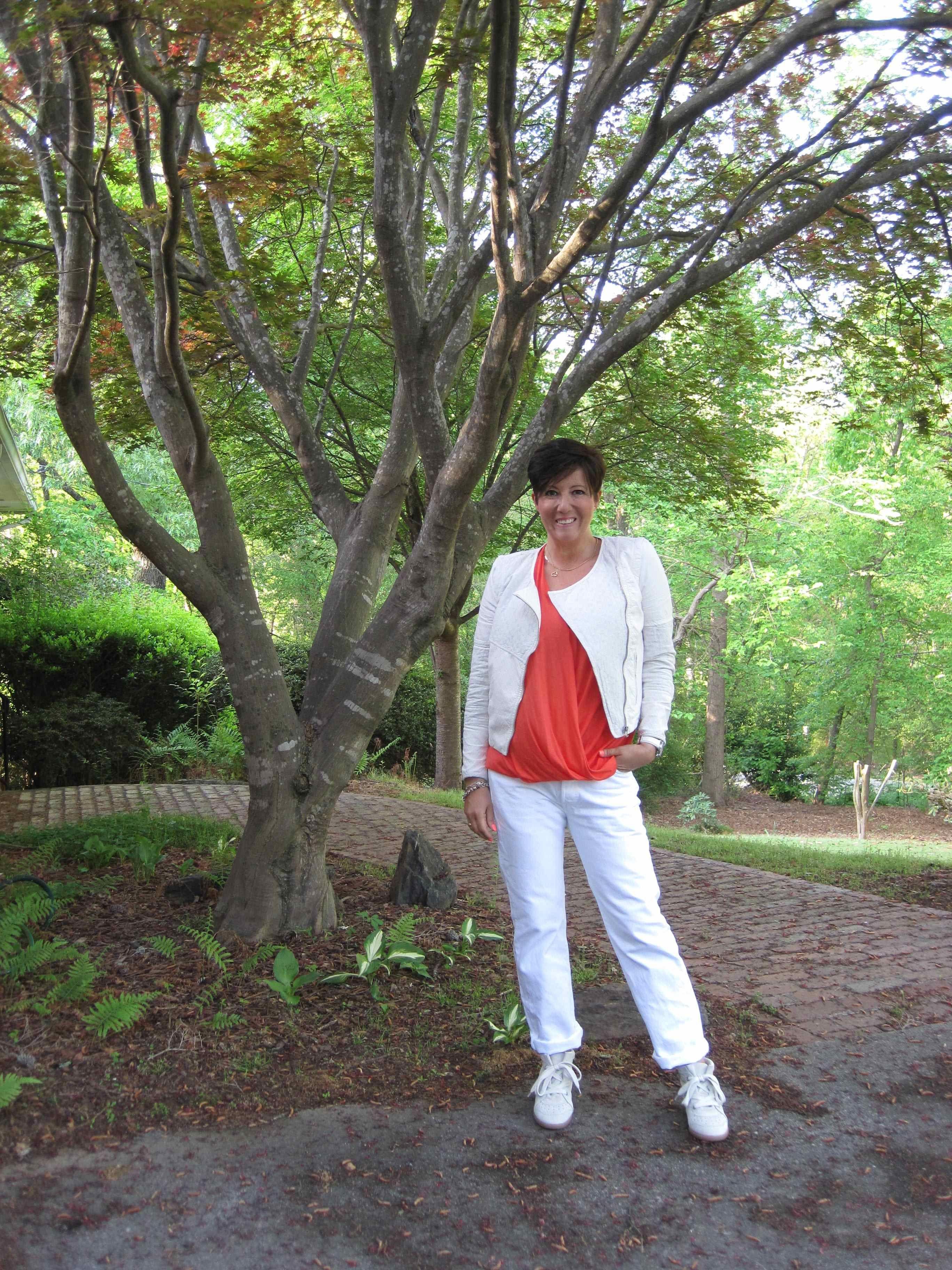 Lots of white today!  @Zara jackets, #IsabelMarant Bobby sneakers