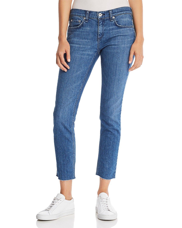 5d764021e48 rag & bone/JEAN Dre Raw-Edge Slim Boyfriend Jeans in Lovie | Bloomingdale's