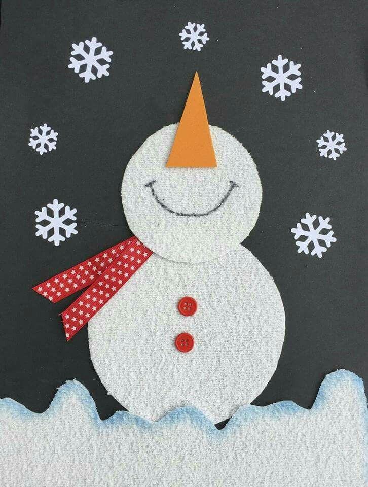 Открытку день, поделки зимние открытки