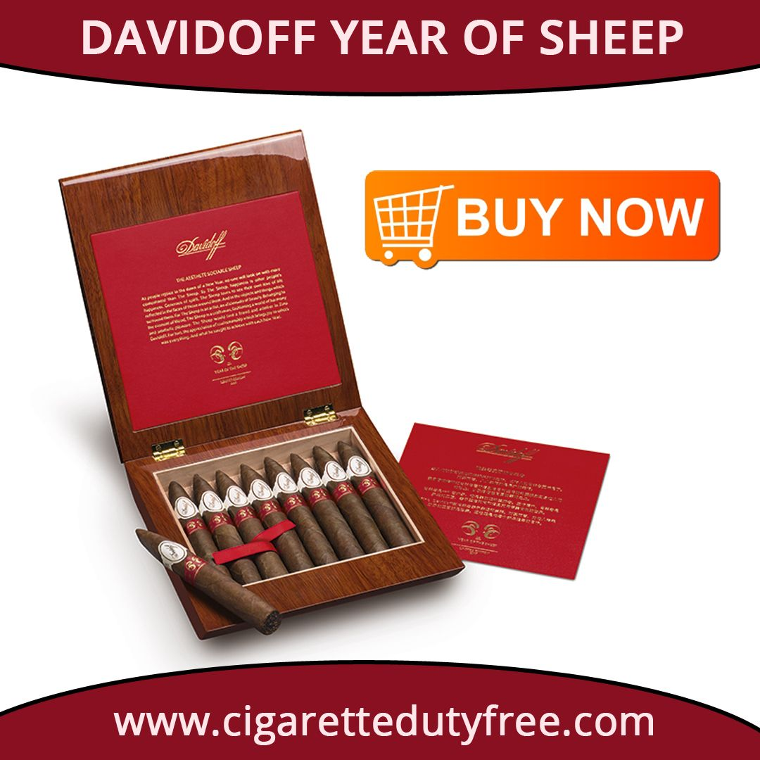 Buy exclusive range of Davidoff Year of Sheep box online