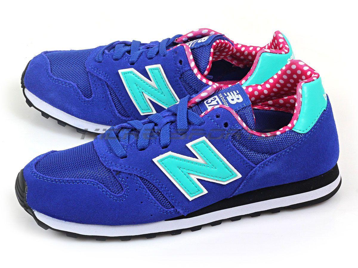Balance Wl373Bgp B Royal Blue & Turquoise & Pink Dots ...
