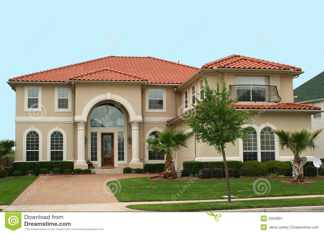 Small mediterranean house plans awesome mediterranean style home mediterranean home design - Home exterior paints concept ...