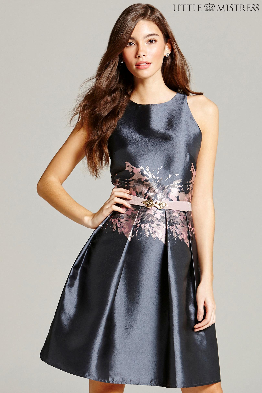 Buy Little Mistress Print Skater Dress from the Next UK online shop ...