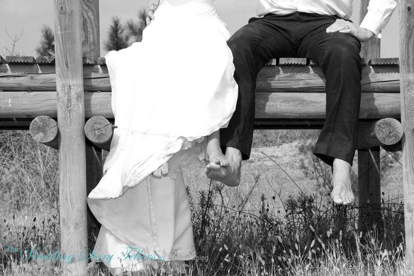 bride & grooms feet