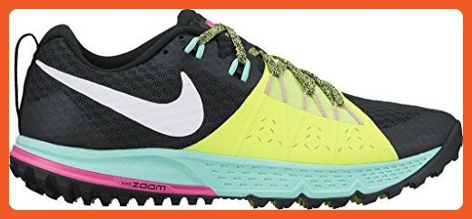 Nike Womens Air Zoom Wildhorse 4 Running Shoe 880566-007 Black Volt (8.5) -  Athletic shoes for women ( Amazon Partner-Link) 3f3585ec33