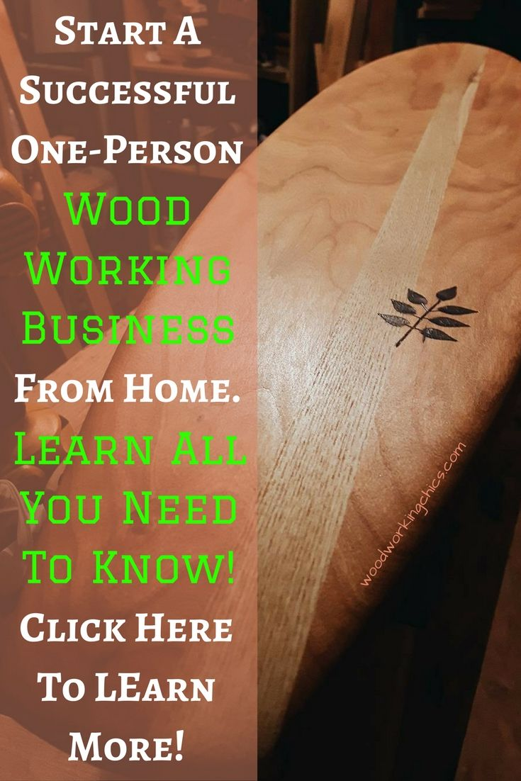 Small Woodworking Business