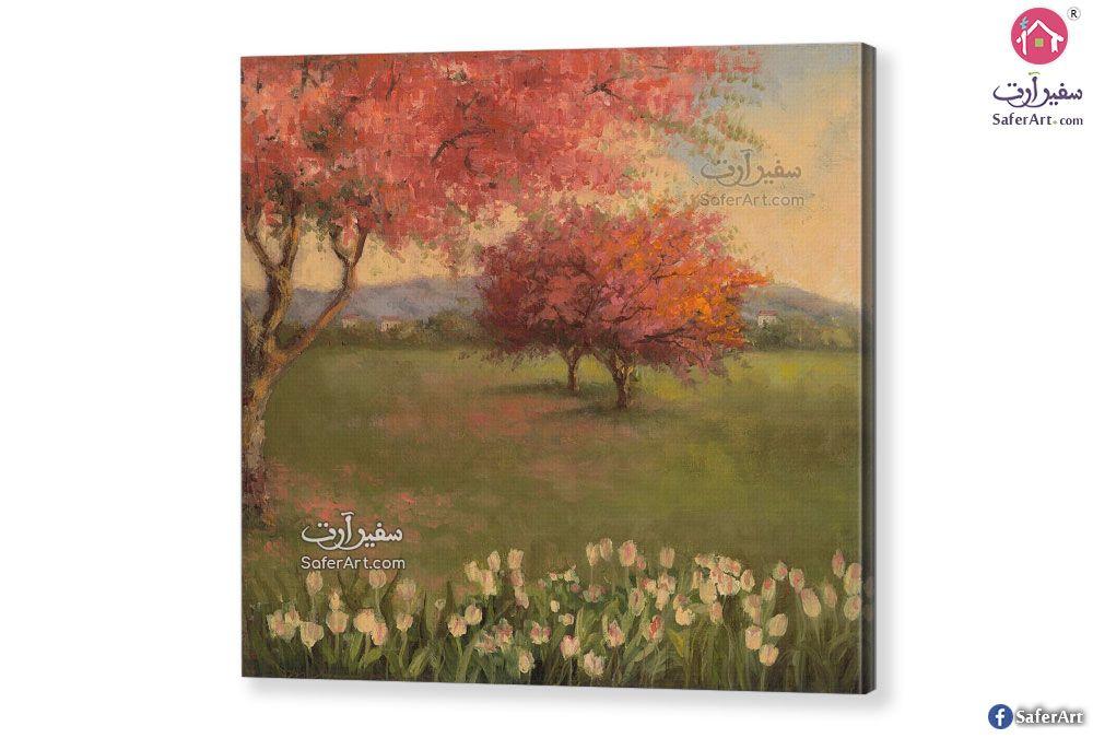 تابلوهات مناظر طبيعية سفير ارت للديكور Landscape Canvas Landscape Art
