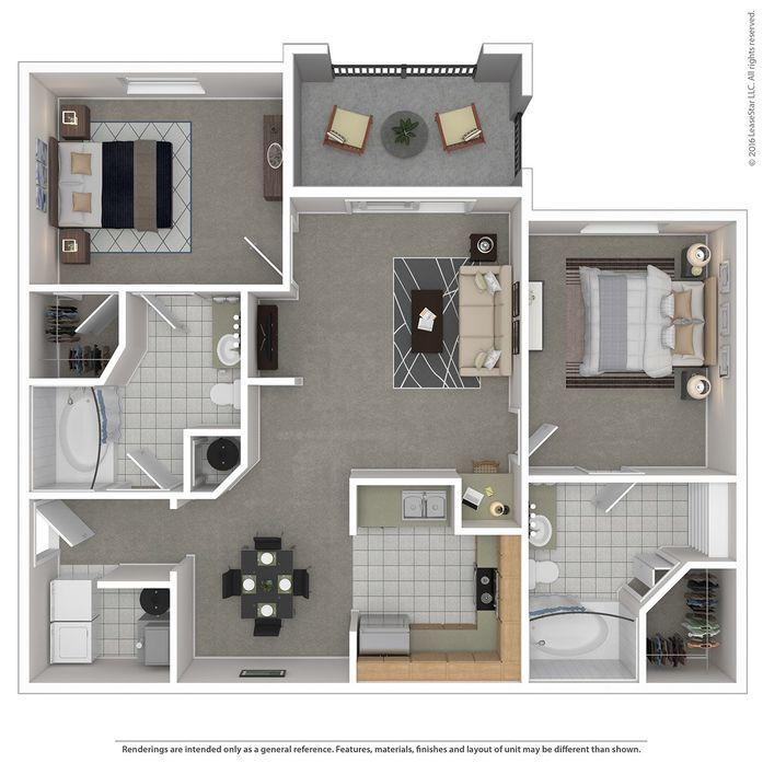 West Palm Beach, FL Portofino Place Floor Plans